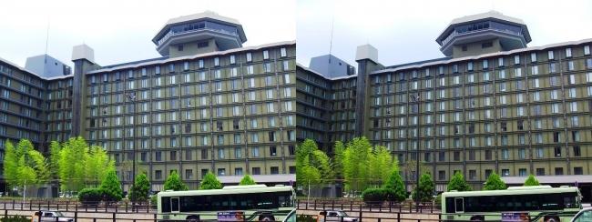 リーガロイヤルホテル京都(交差法)