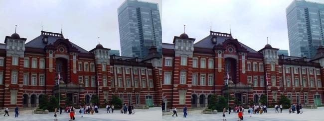 東京駅舎②(平行法)