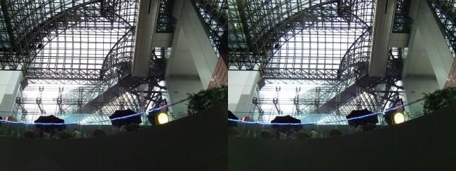 JR京都駅③(平行法)