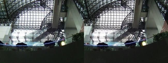 JR京都駅③(交差法)
