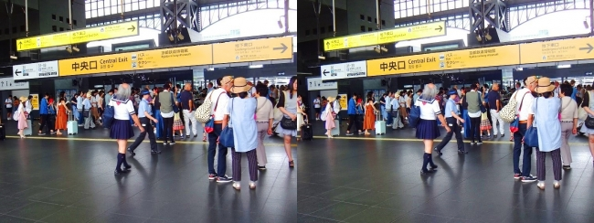 JR京都駅②(平行法)