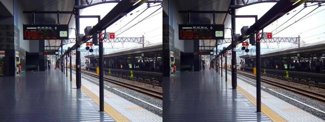 JR京都駅①(交差法)