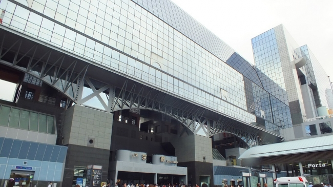 京都駅ビル 烏丸口