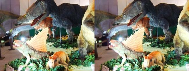 メガ恐竜展2017 ZONE1 生体復元(平行法)