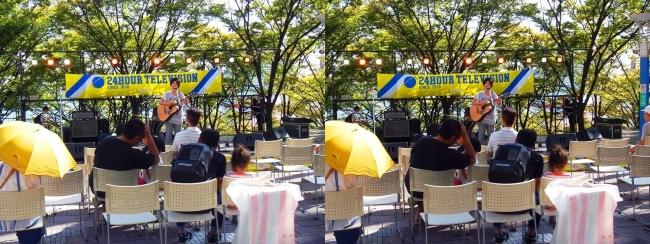 大阪南港ATC Os棟 海辺のステージ(交差法)