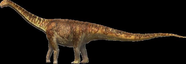 トゥリアサウルス 復元画