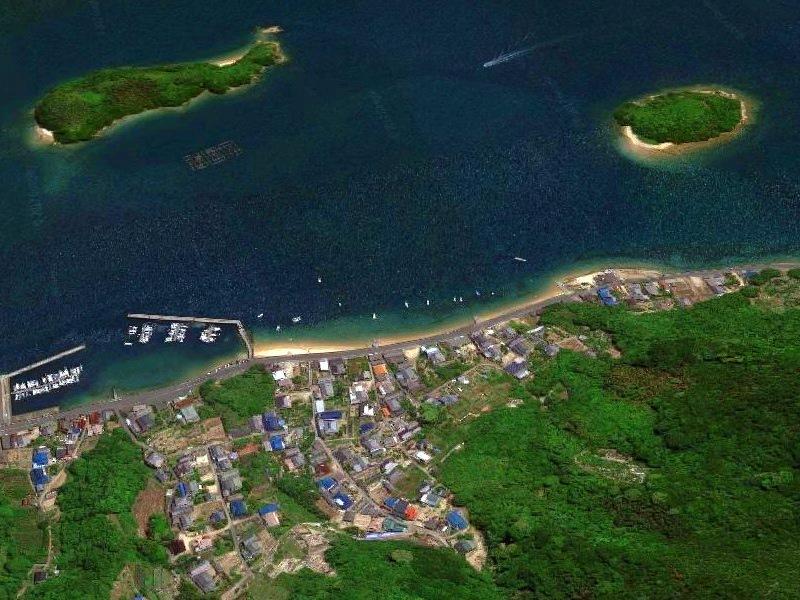 向島干汐海岸GoogleMap