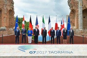 300a G7 2017 Taormina Sicily