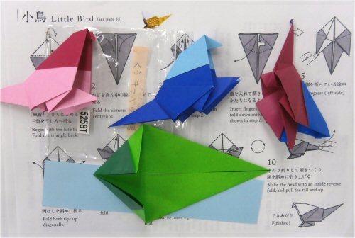 500 20170610 折り紙:小鳥づくり