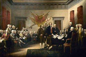 300 01 Signing 独立宣言