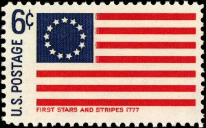 300 02 first Stars and Stripes stamp