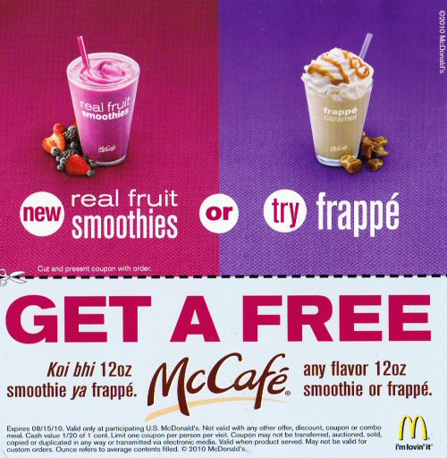 500 smoothies or frappe