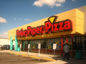 300 Peter Piper Pizza