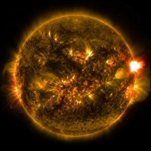 300 solar flare