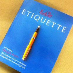 250 137b blue-book etiquette