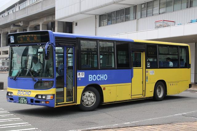 防長交通 山口200か1075 - バス...