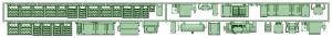 1350系床下機器(タイプ2)【武蔵模型工房 Nゲージ 鉄道模型】