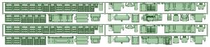 1350系床下機器(タイプ2_3)【武蔵模型工房 Nゲージ 鉄道模型】