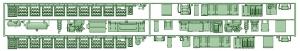 1500系 1501F仕様床下機器【武蔵模型工房 Nゲージ 鉄道模型】