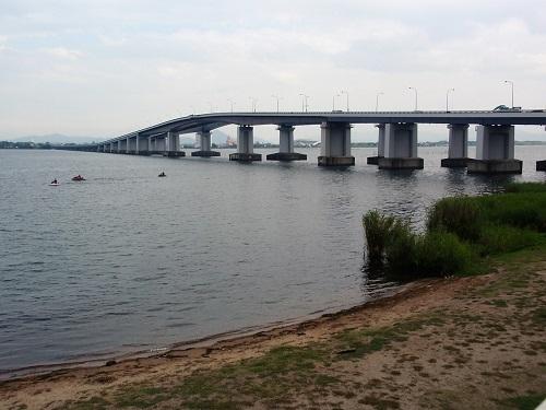 琵琶湖大橋170907