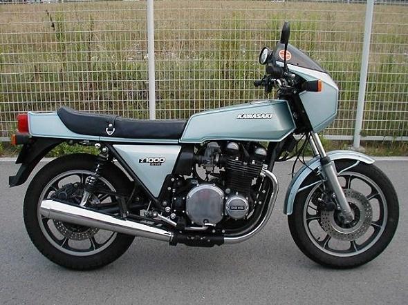 カワサキZ1-R(KZ1000-D1)