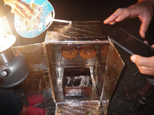 段ボールオーブン