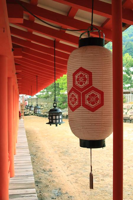20170507厳島神社の灯籠