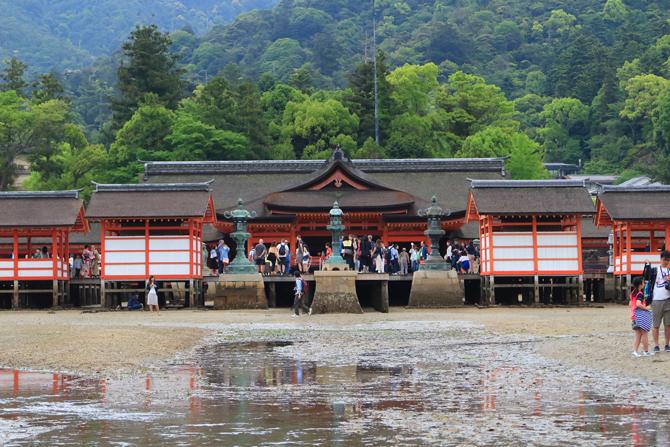 20170507厳島神社正面水なし2