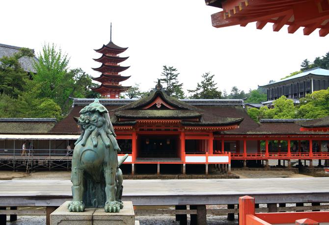20170607厳島神社正面