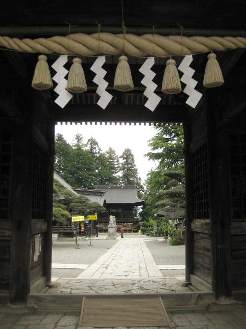 浅間神社(甲斐)本殿08