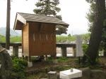 浅間神社(甲斐)山宮遥拝・石・松07