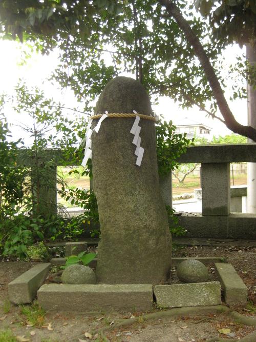 浅間神社(甲斐)山宮遥拝・石・松11