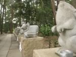浅間神社(甲斐)十二支めぐり09