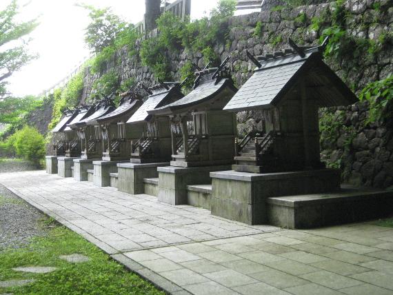 秋葉神社・かわらけ投げ-摂末社13