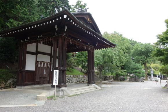 栖松遙拝殿と自動車清祓所14