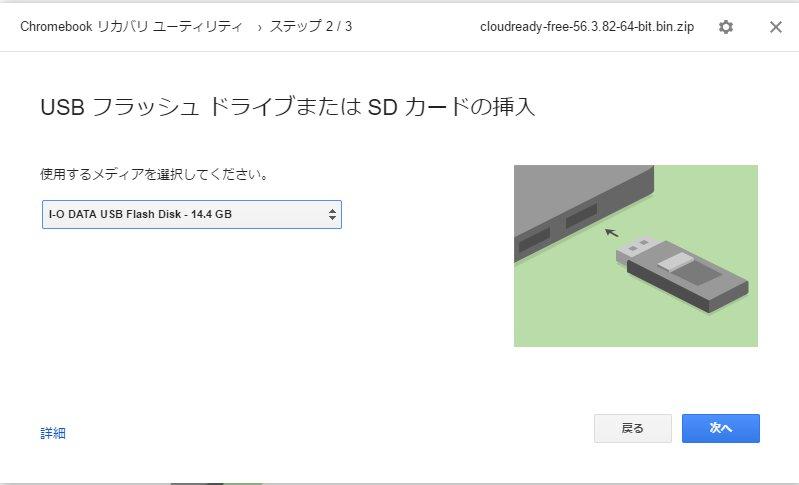 USBフラッシュ
