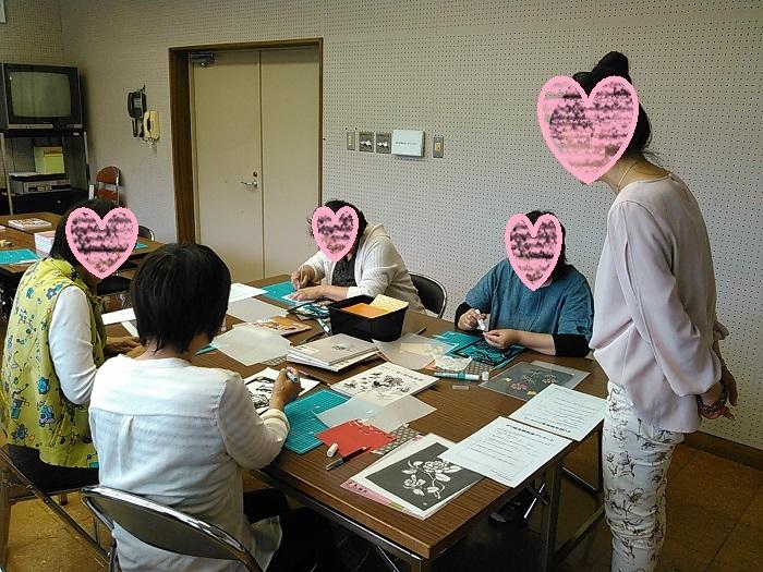 藤原図書館きり絵教室 008a