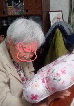 母の日おばあちゃん