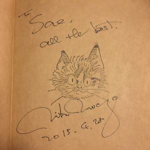 岩合さんのサイン☆