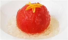 トマトの柚子ジュレ
