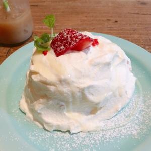 ミルキークリームのシフォンケーキ