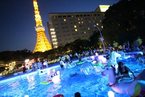 CanCam×Tokyo Prince Hotel Night Pool