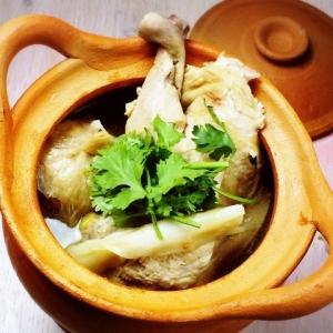 鶏のアジアンハーブ煮