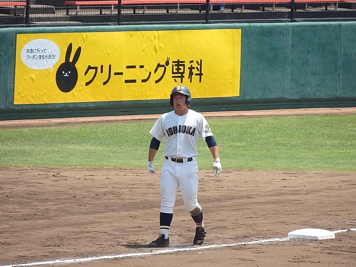 16_3回表、7番吉田知樹くんが3塁まで進むが・・
