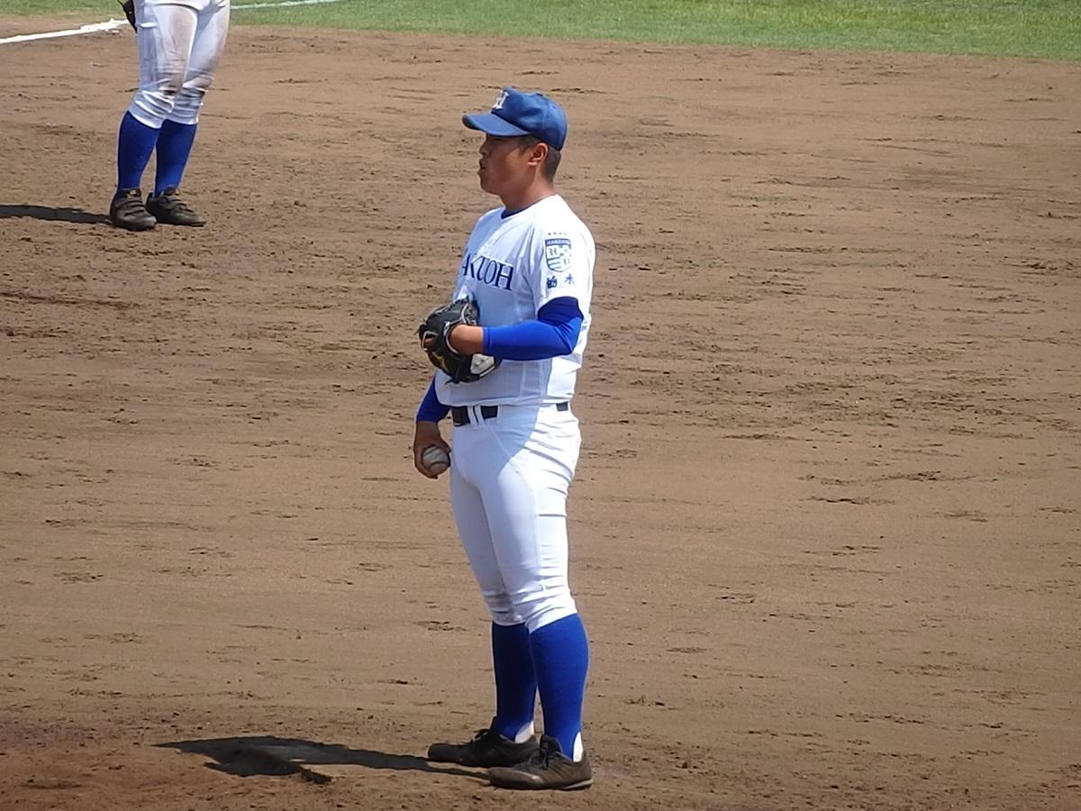 17_作新学院を完封した白鷗大足利の背番号10仁見くんが5回から登板!