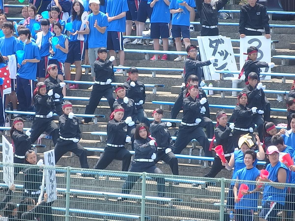 02_石下紫峰の統率の取れた素晴らしい応援!