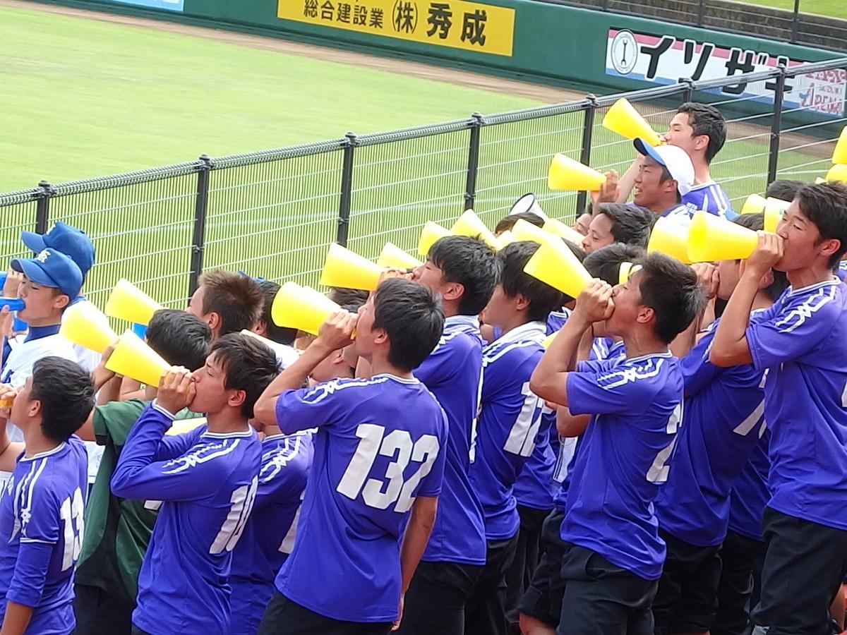 13_水戸啓明サッカー部、圧巻の声量