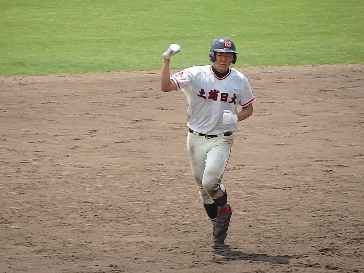 33_8回裏、土浦日大井上くんが満塁ホームラン!一気にコールド勝ち!!①