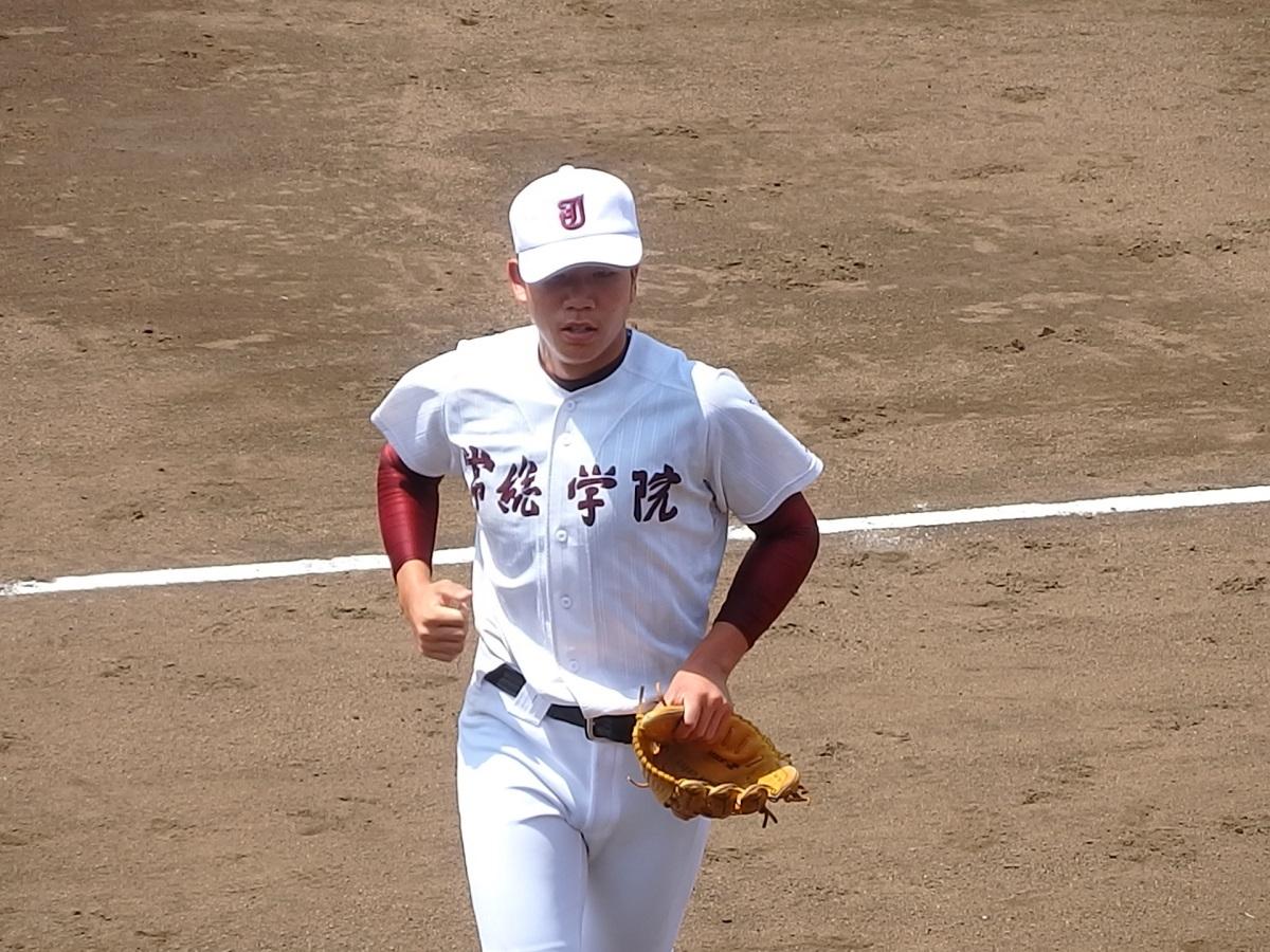 11_常総学院の先発は左腕の吉田くん