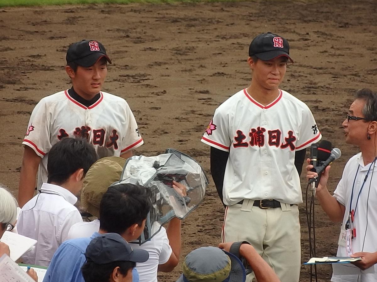 63_土浦日大の井上くん(左)・富田くん(右)